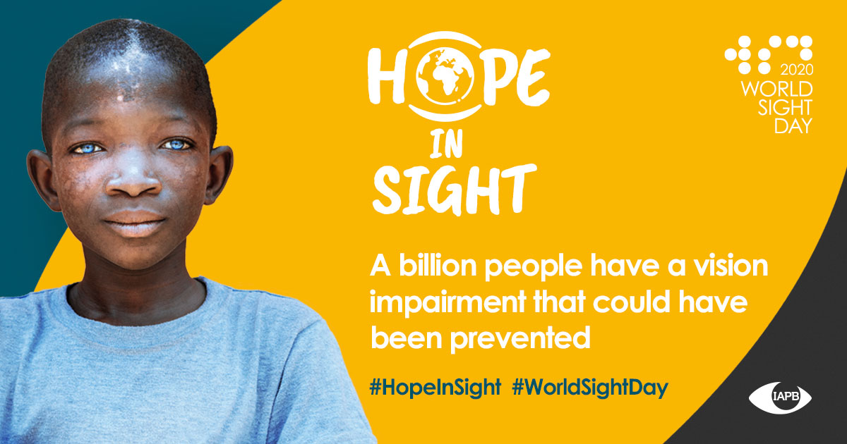 World Sight Day 2020: Why and How to Get Involved